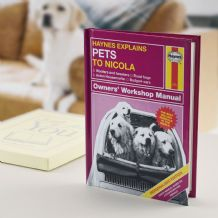 Haynes Explains Pets - Personalised Book